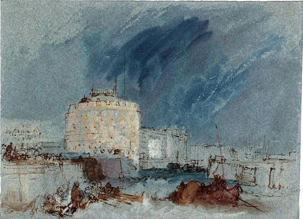 William Turner 1832 - Tour de Francois 1re