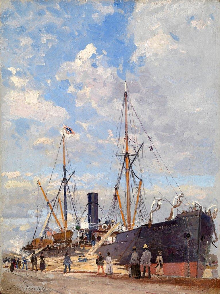 "???? Nikolay Gritsenko - The ""Benefactor"" in Le Havre"