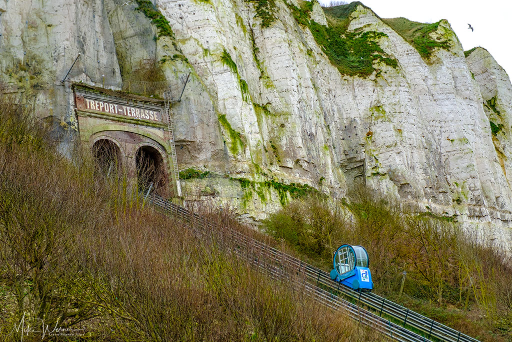 The funicular in Le Treport