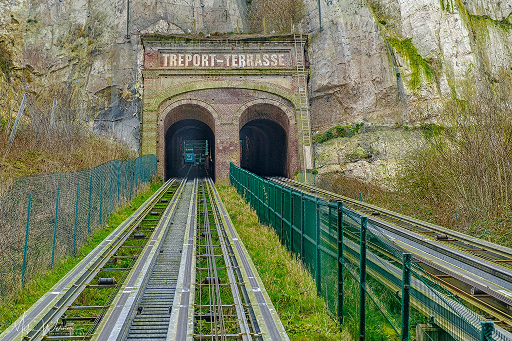 The funicular of Le Treport