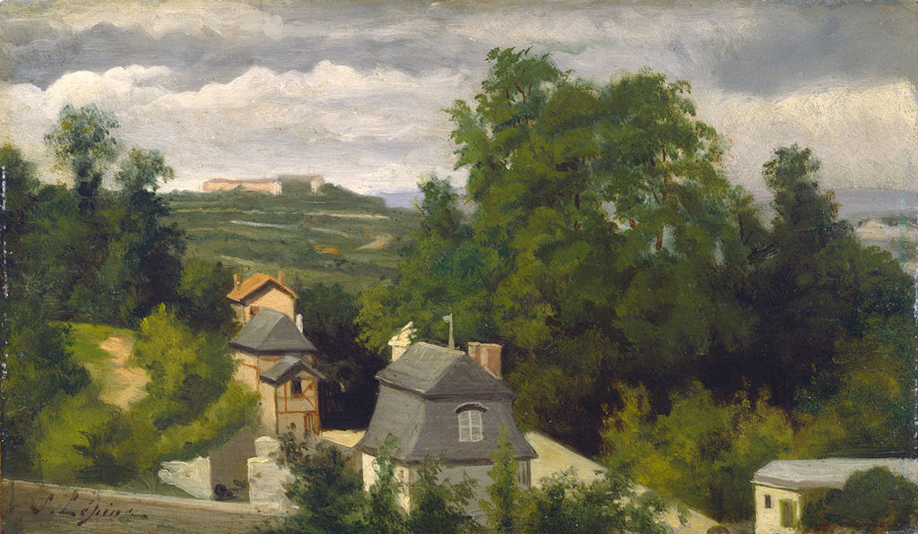 1872 Stanislas Lepine - View on the Outskirts of Caen