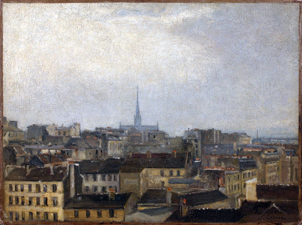 ???? - Stanislas Lepine  - View of Caen