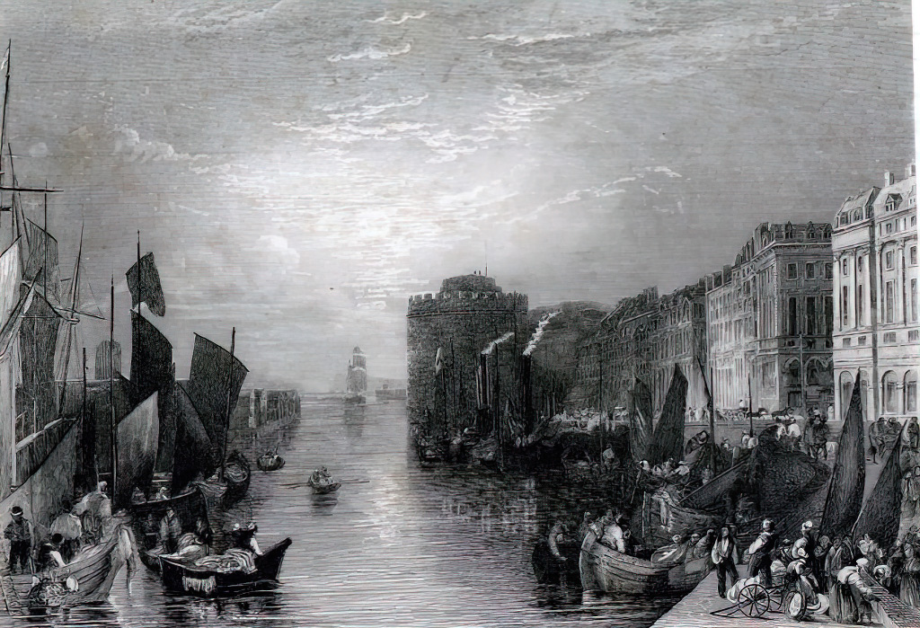 William Turner 1830 - Havre
