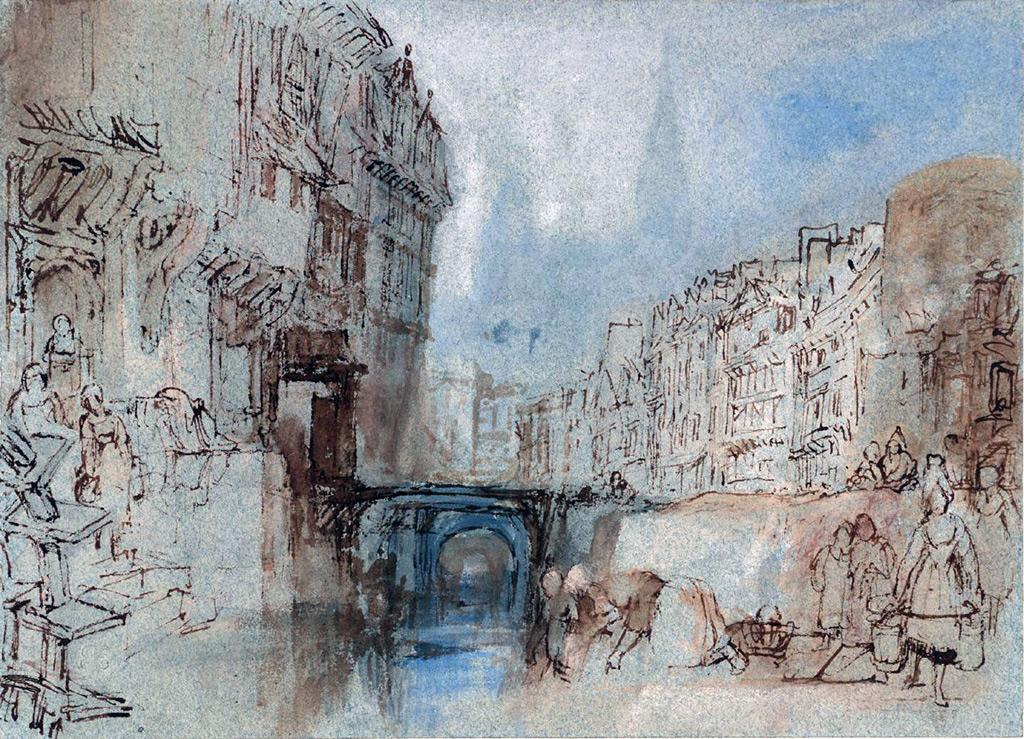 William Turner 1832 - Montivilliers, Normandy