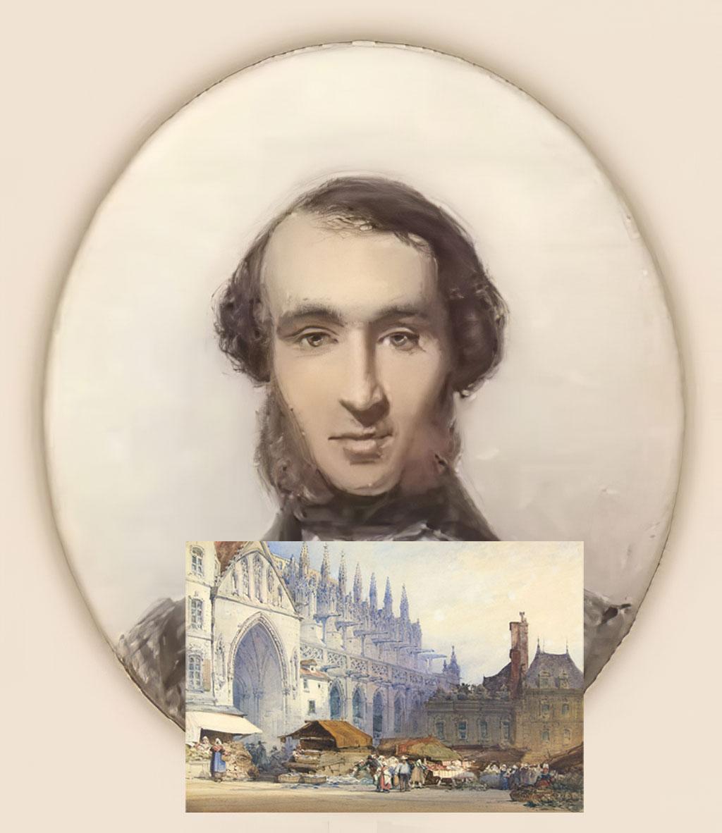 Caen – The Artists – Callow, William