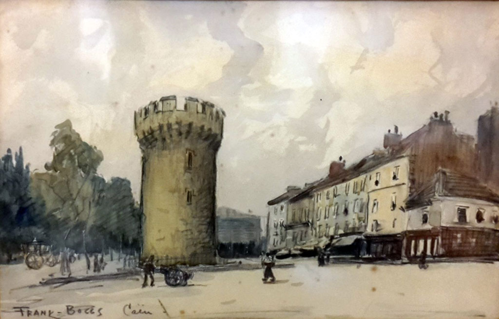 ???? - Frank Boggs - The Leroy Tower at Caen