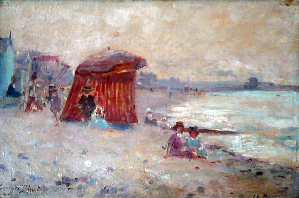 ???? - George Binet - Le Havre, the Beach
