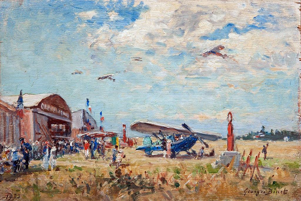???? - George Binet - Octeville aerodrome, Normandy