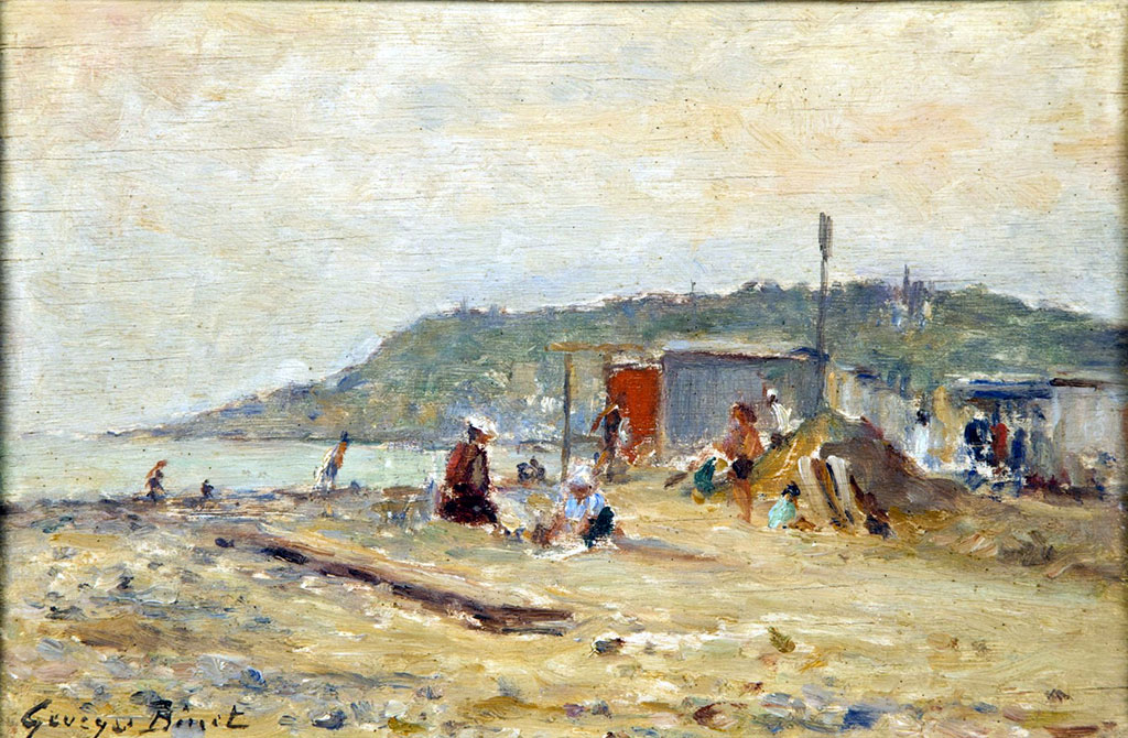 ???? - George Binet - The Beach of Sainte Adresse