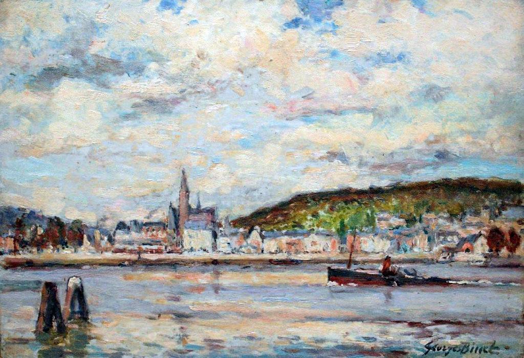 ???? - George Binet - Loop of the Seine at Caudebec-en-Caux