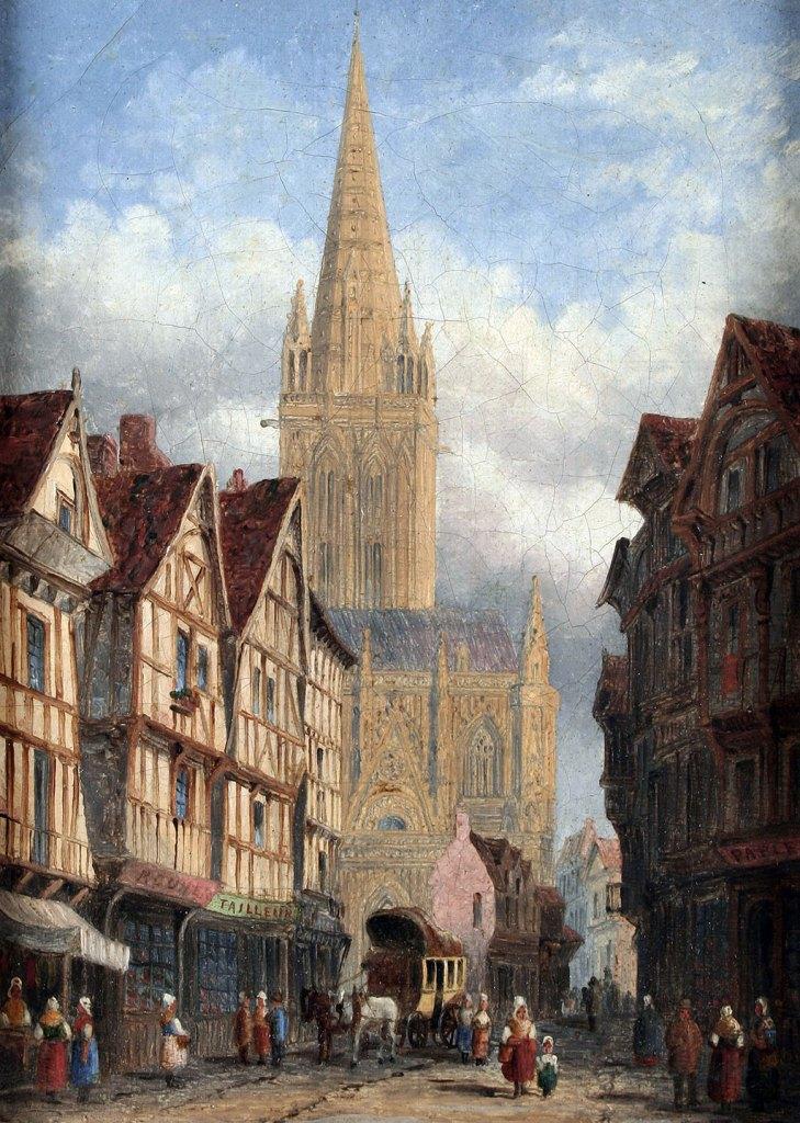 1870 - Henry Thomas Schafer - St.-Pierre, Caen