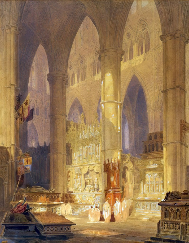 1797 - William Turner - Caen Cathedral