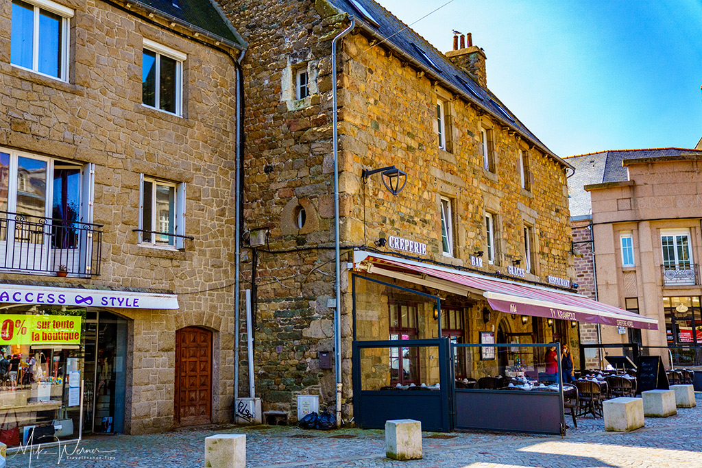 Creperie restaurant in Paimpol