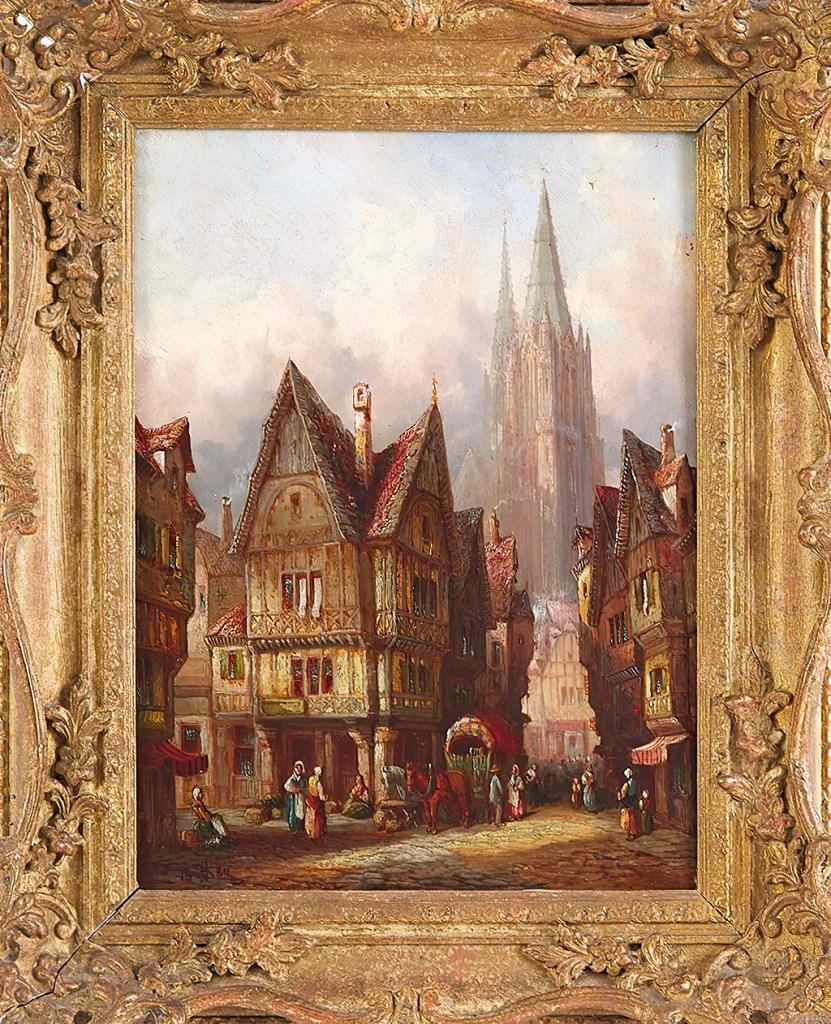 1883 - Henry Thomas Schafer - Caudebec-sur-Seine