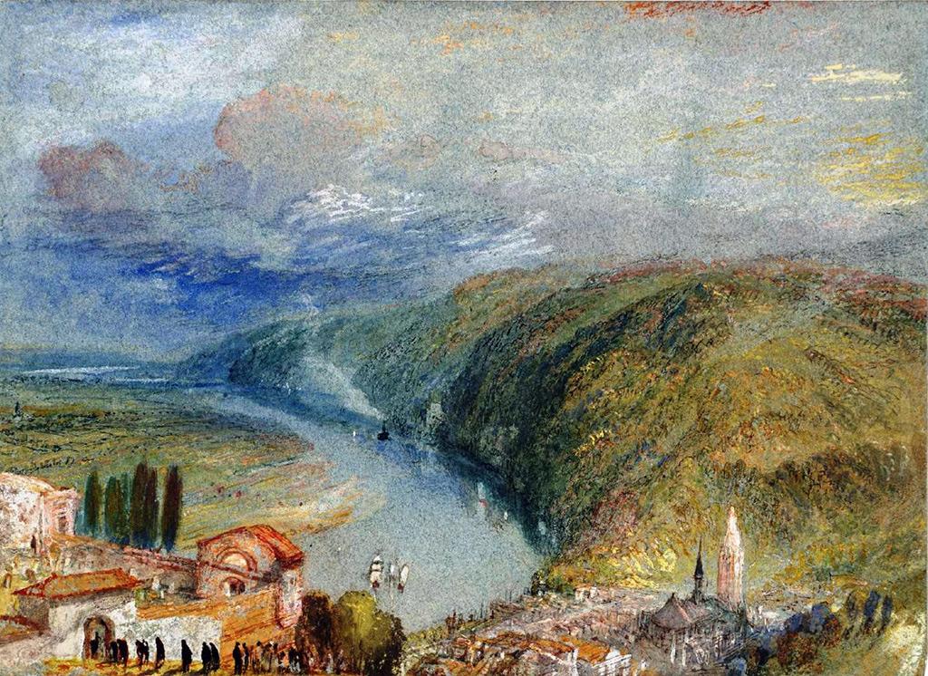 1832 - Joseph Mallord William Turner - Caudebec-en-Caux