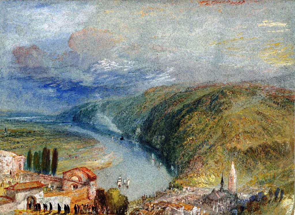 1832 - Joseph Mallord William Turner - Caudebec-en-Caux