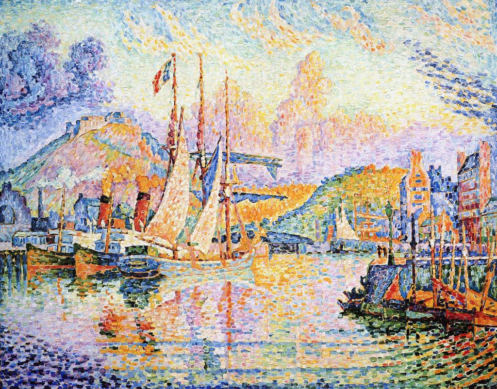 1932 - Paul Signac - Cherbourg, Fort du Roule