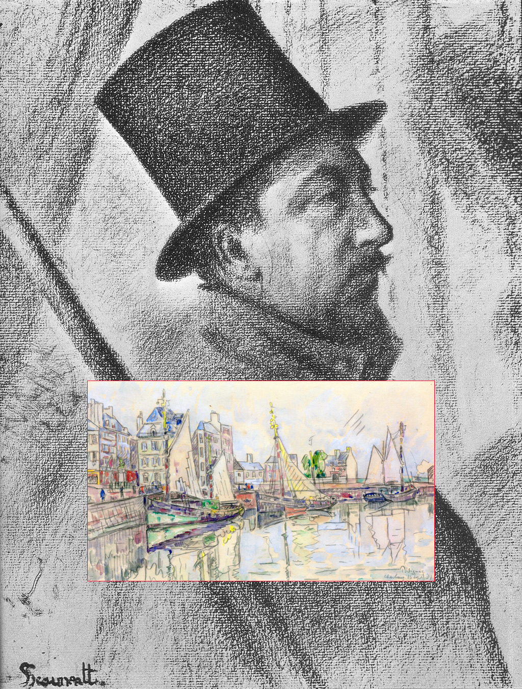 Cherbourg – The Artists – Signac, Paul
