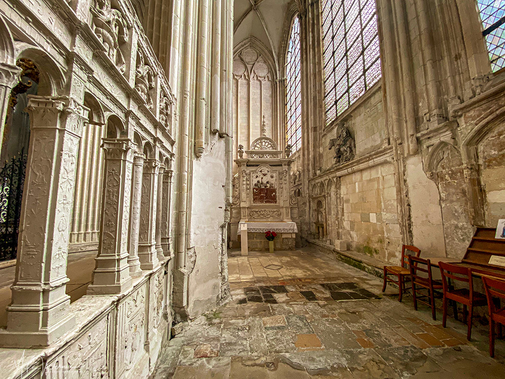 Saint Clair Chapel of the Trinity Abbey of Fecamp