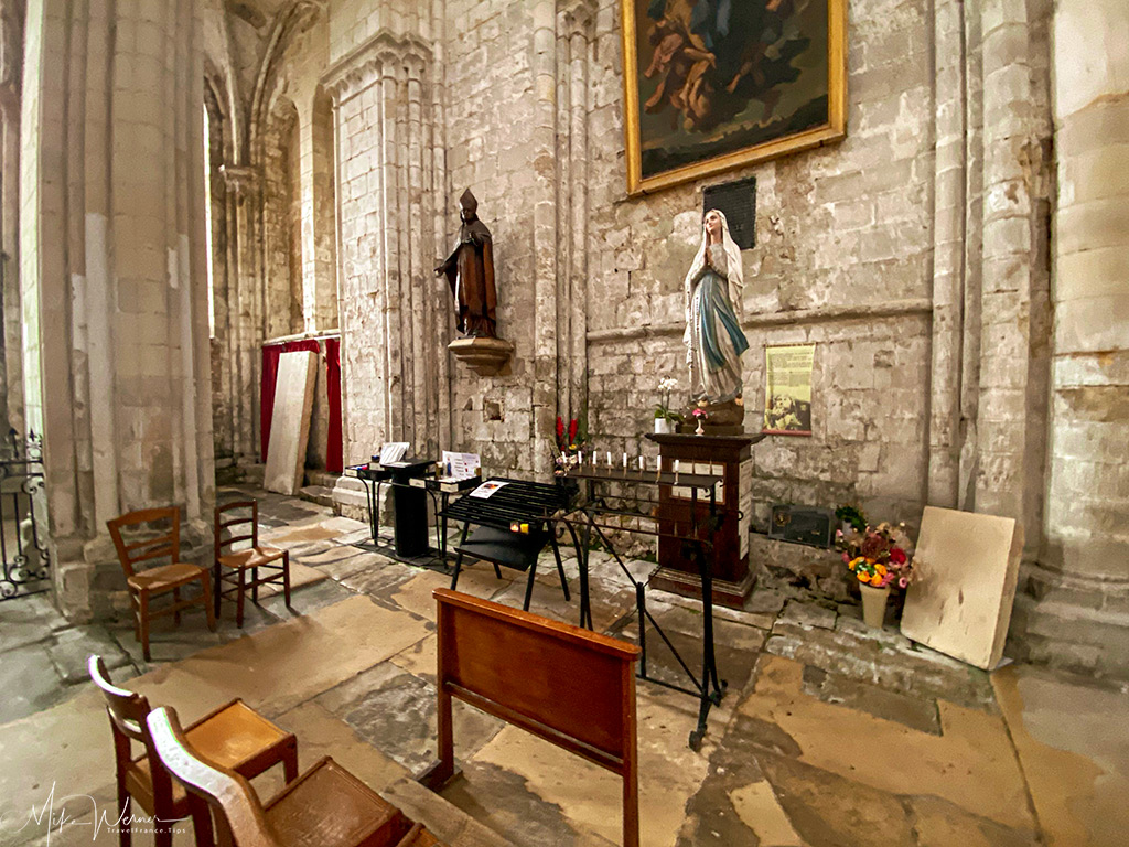 Chapel of the Fonts of the Trinity Abbey of Fecamp