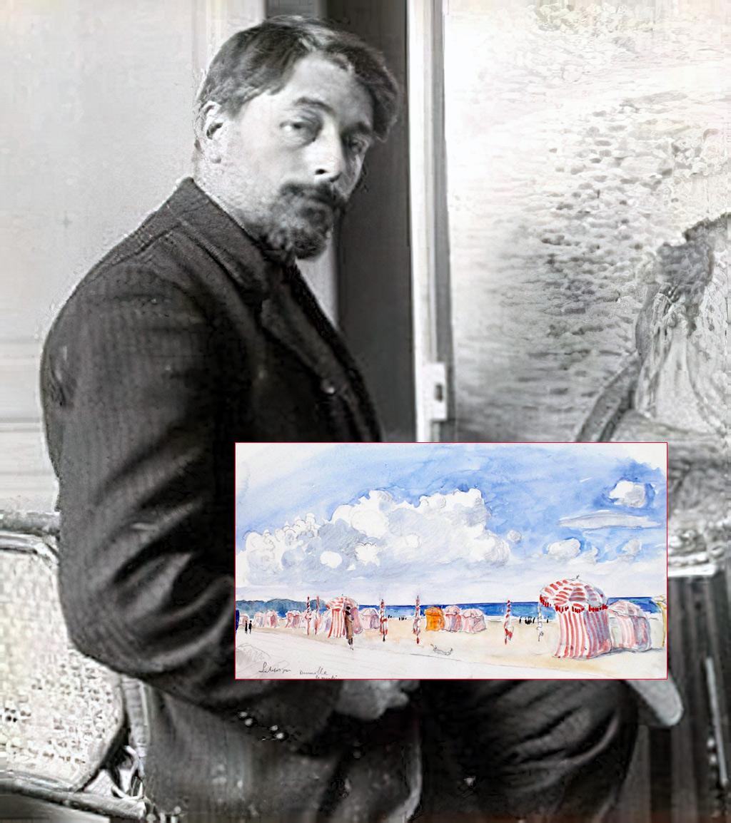 Deauville – The Artists – Lebasque, Henri