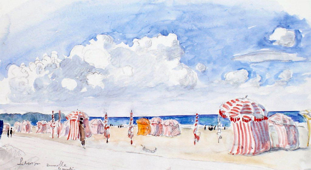 ???? - Lebasque - Morning at the Deauville Beach