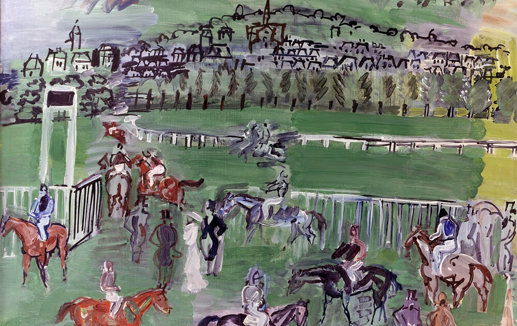 1928 - Raoul Dufy - Deauville, the Horse Race Track