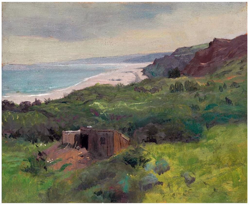 1913 - Felix Vallotton - The Cliffs at Houlgate