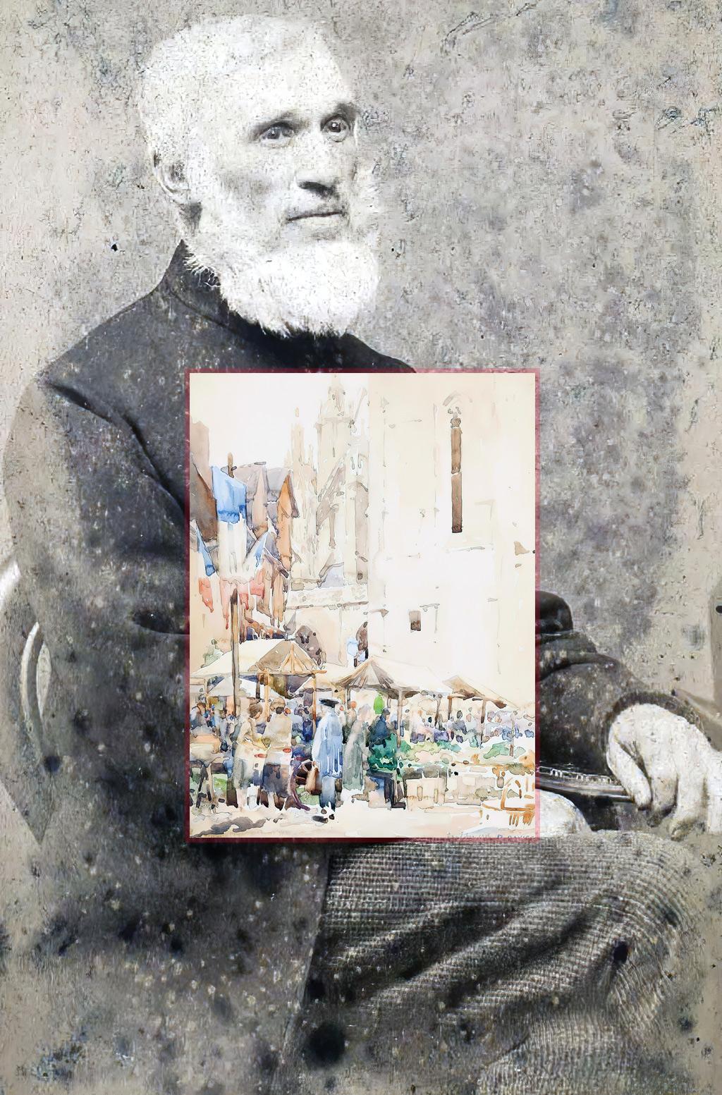 Caudebec-en-Caux – The Artists – Davies, David