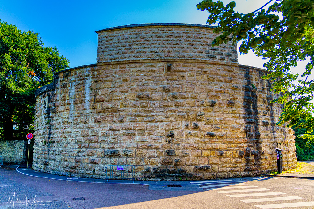 Corner unit of the city fortified walls