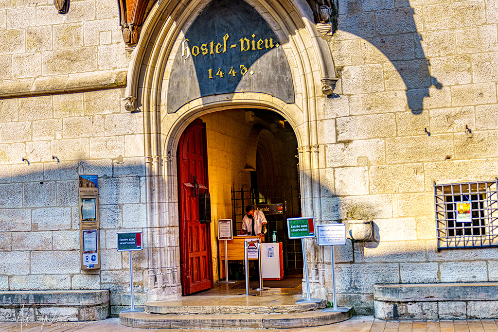 Entrance to the Hospices de Beaune