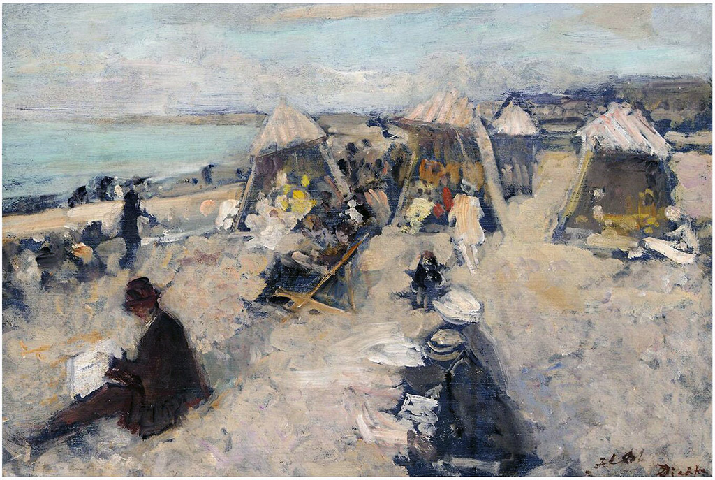 ???? - Jacques-Emile Blanche - Grey Bay at Dieppe