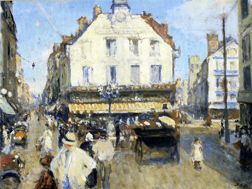 ???? - Jacques-Emile Blanche - The Puits Sale square