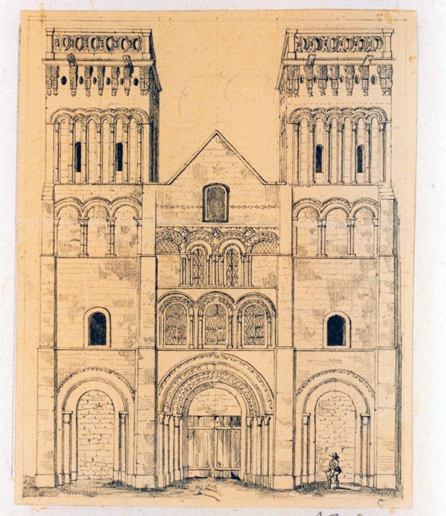 ????- Dauzats - Trinity Church of Caen