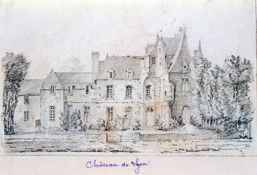 ???? - de Jolimont - Lion-sur-Mer Castle