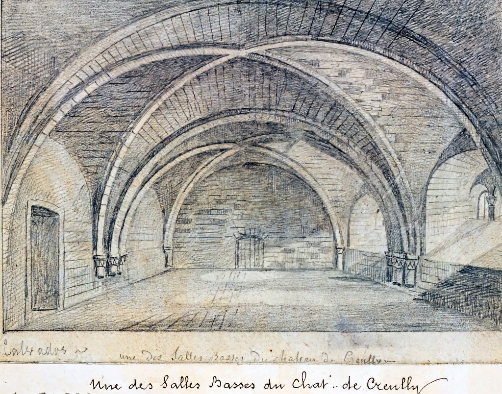 ???? - de Jolimont - One of the Lower Rooms of the Creully Castle. Calvados