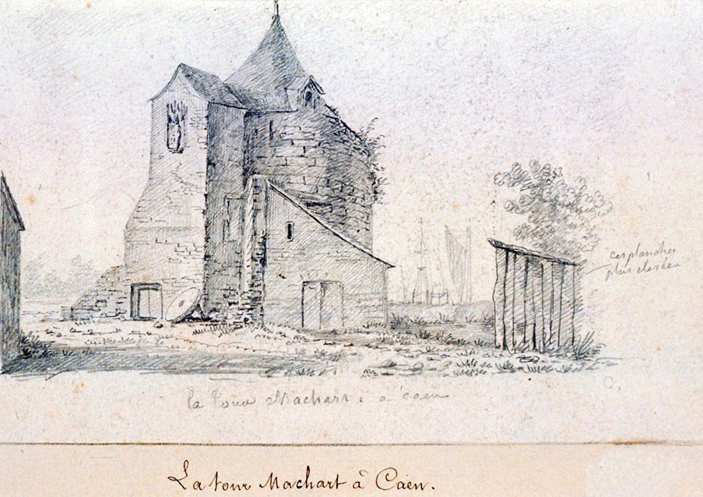 ???? - de Jolimont - The Machart tower in Caen