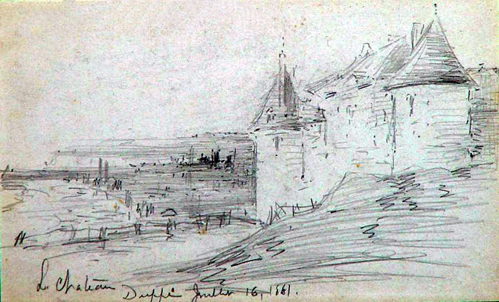 1881 - Frank Myers Boggs - The Castle of Dieppe