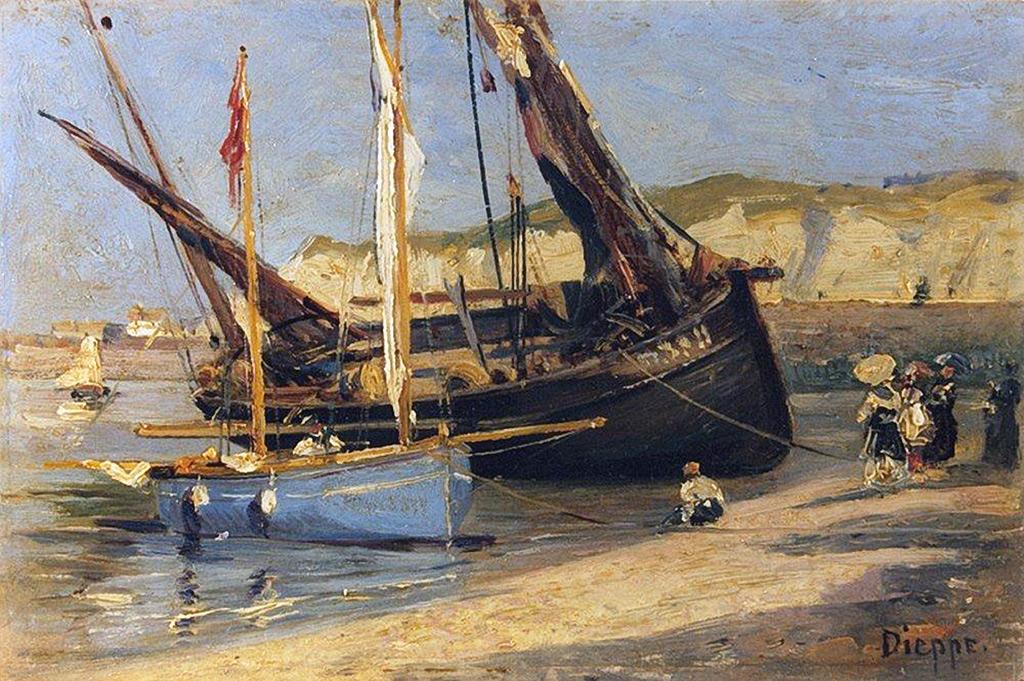 1882 - Alexey Petrovich Bogolyubov - Dieppe