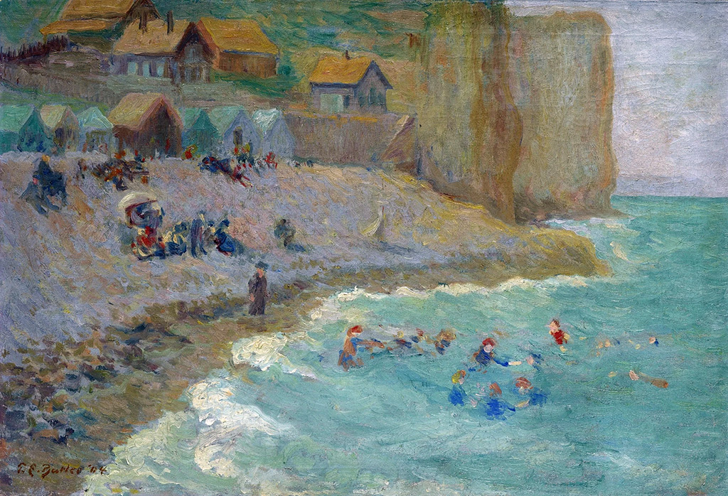 1904 - Theodore Earl Butler - Bathers at Quiberville
