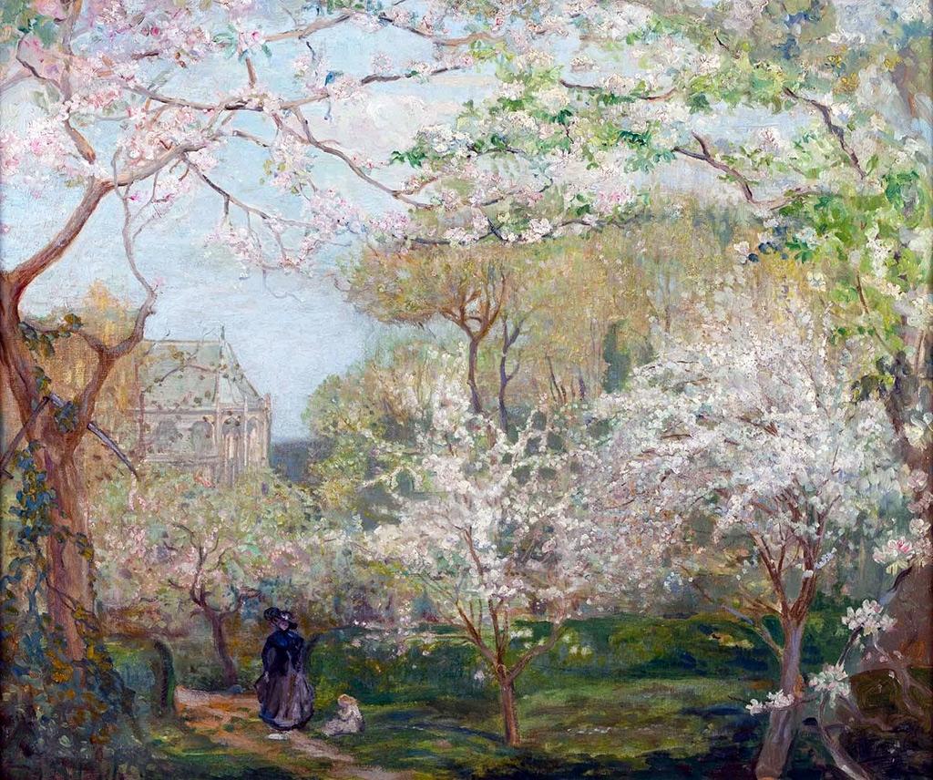 1899 - Charles Conder - Springtime, Arques-la-Bataille