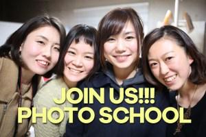 JOIN US PHOTO SCHOOL