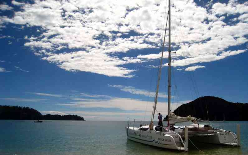 Sailing Abel Tasman National Park