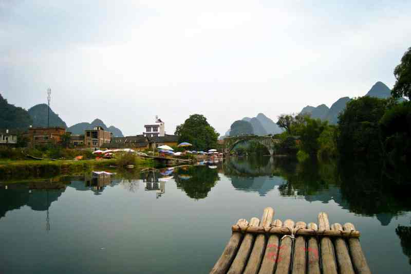 Yulong River, Dragon Bridge, China