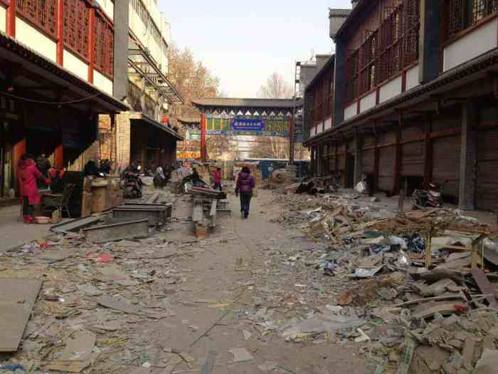 Dirty Streets of China