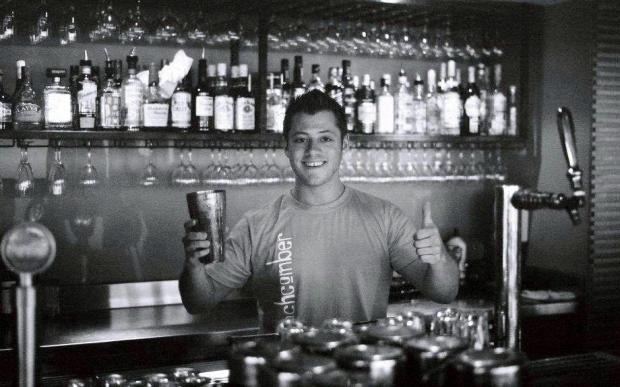 Behind the Bar in Australia