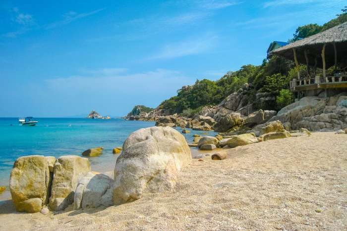 Beach views on Koh Tao