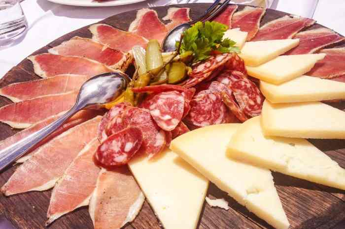 Croatian cold cuts