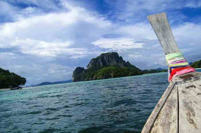Longtail Boat in Tonsai, Thailand