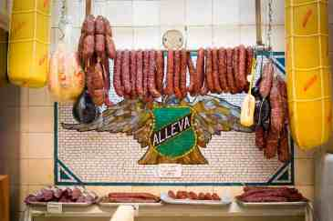 Handmade Sausages at Alleva